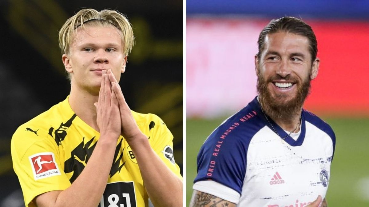Haaland-and-Ramos-'like-each-other'