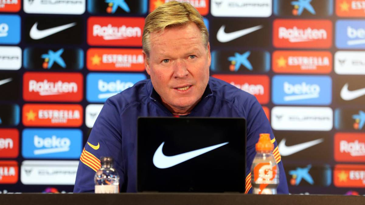"Koeman:-""Lenglet-takes-it-all-very-personally"""