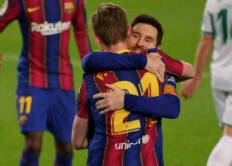 Messi llega como máximo goleador del 2021 a Sevilla