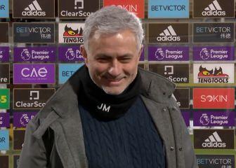 Mourinho le lanza un acertijo a una periodista en pleno directo 1