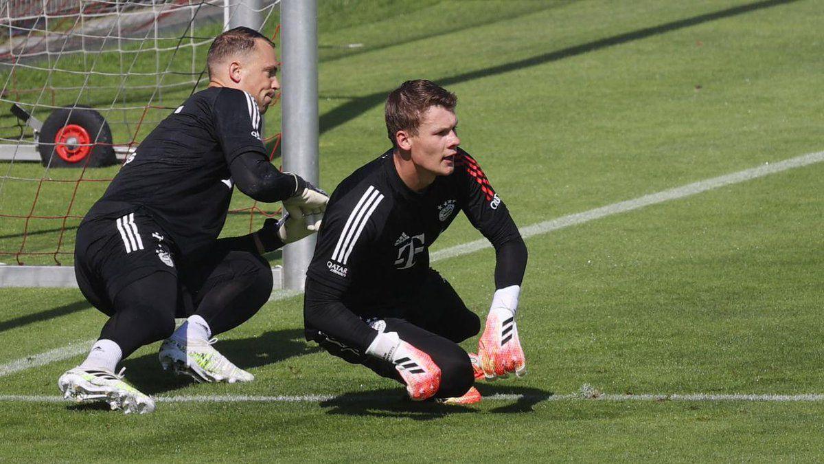 Bayern-goal-chaos:-Nübel-gets-tired