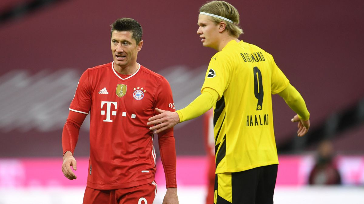 Lewandowski-wins-the-German-classic-to-Haaland-who-was-injured