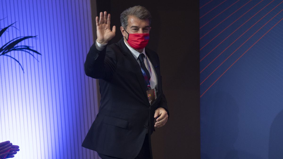 LaLiga-gives-the-OK-to-Laporta's-endorsement:-he-will-be-invested-this-afternoon