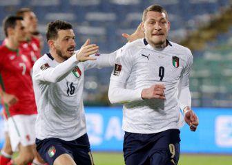 Italia sigue ganando: 0-2 en Bulgaria 1