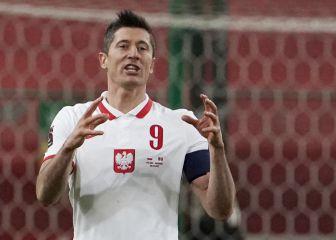 Lewandowski, baja para el partido contra Inglaterra 1