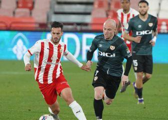 Almería Sin mejorar ante los rivales directos 1
