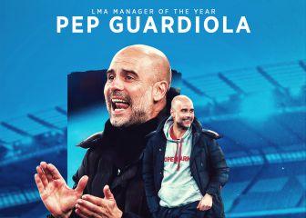 Guardiola, entrenador del año en la Premier