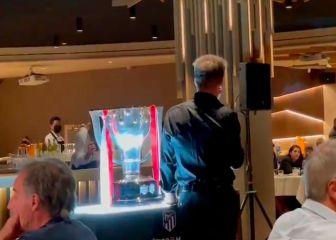 El discurso privado de Simeone a los jugadores contra «los poderosos Madrid y Barcelona»