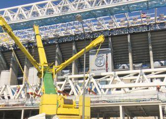 Ya va quedando menos: así avanzan las obras del Santiago Bernabéu 1