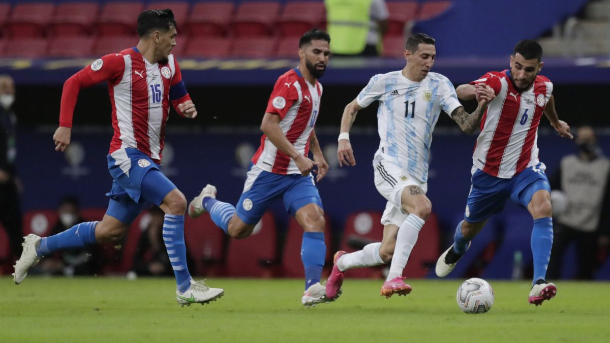 Paraguay-cannot-with-Argentina-in-the-Copa-América