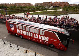 La afición podrá elegir el diseño del nuevo autobús del Atlético