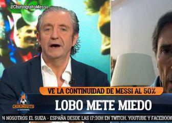 Del «se queda al 90%» a esto: el preocupante cambio de discurso de Lobo Carrasco sobre el futuro de Messi