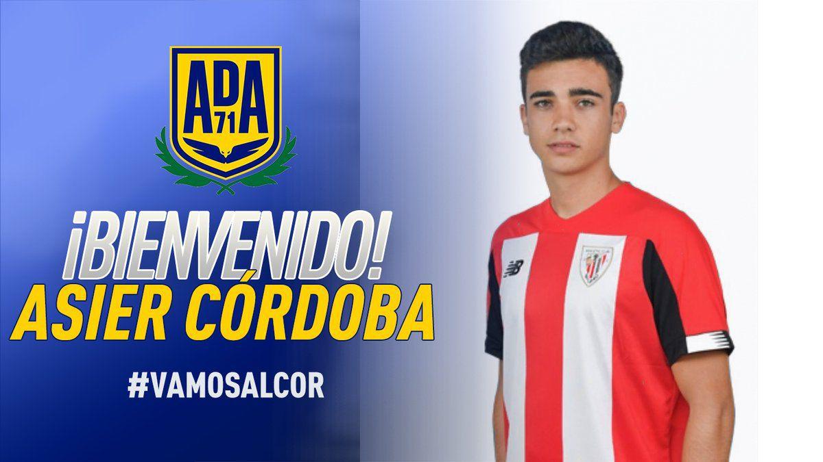 Asier-Córdoba-new-incorporation-of-AD-Alcorcón