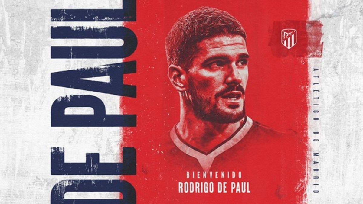 Atlético-announces-De-Paul