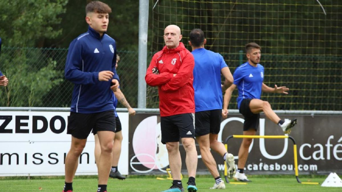 Calero-happy-with-the-first-week-of-training