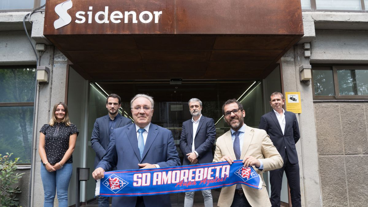 Sidenor-main-sponsor-of-Amorebieta-in-Segunda