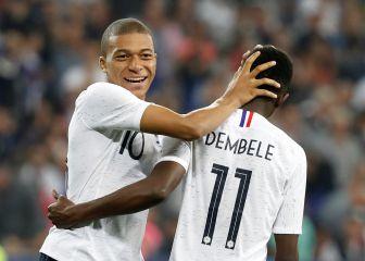 Dembélé es mejor que Mbappé
