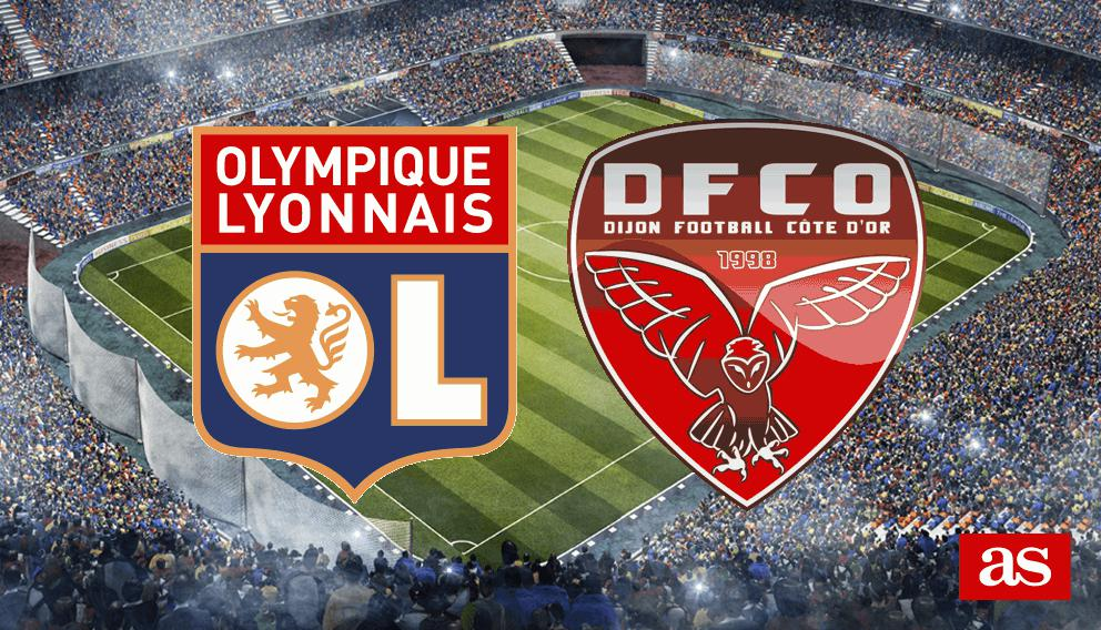 Lyon vs. Dijon live: Ligue 1 2018/2019 - AS.com