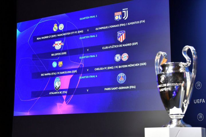 Champions League And Europa League Quarter Semi Final Draws As They Happened As Com