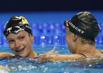 Katie Ledecky y Katie Grimes califican a los Juegos Olímpicos