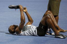 Bolt reapareció por sorpresa en 200 y se impuso con 20.20