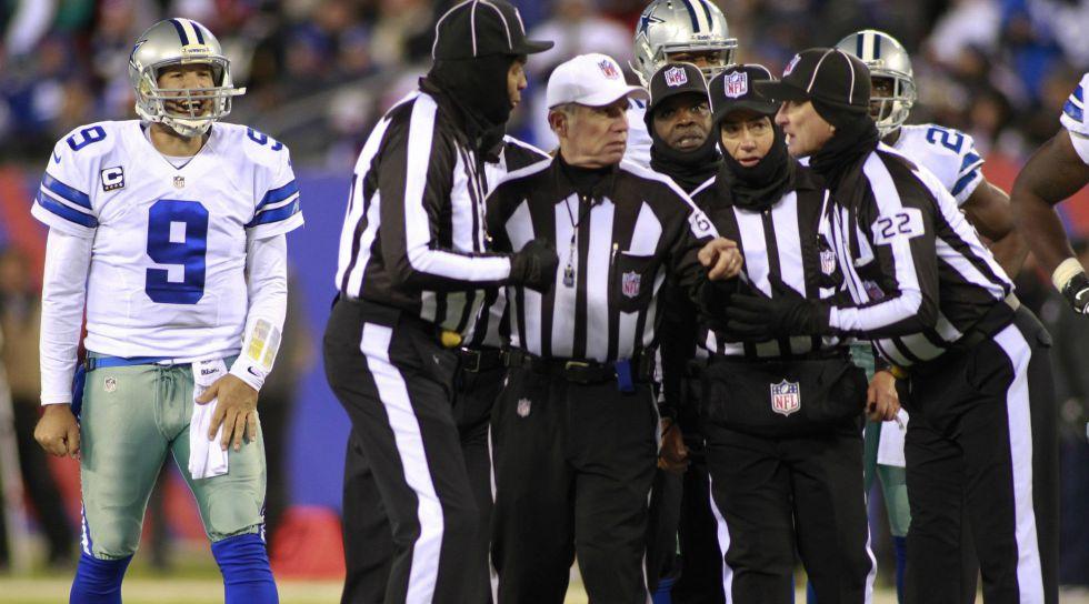 Así se organiza un equipo de árbitros en la NFL - AS.com 0e83424d12c