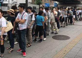 Locura en Japón: 3.000 metros de cola para comprar una Nintendo Switch