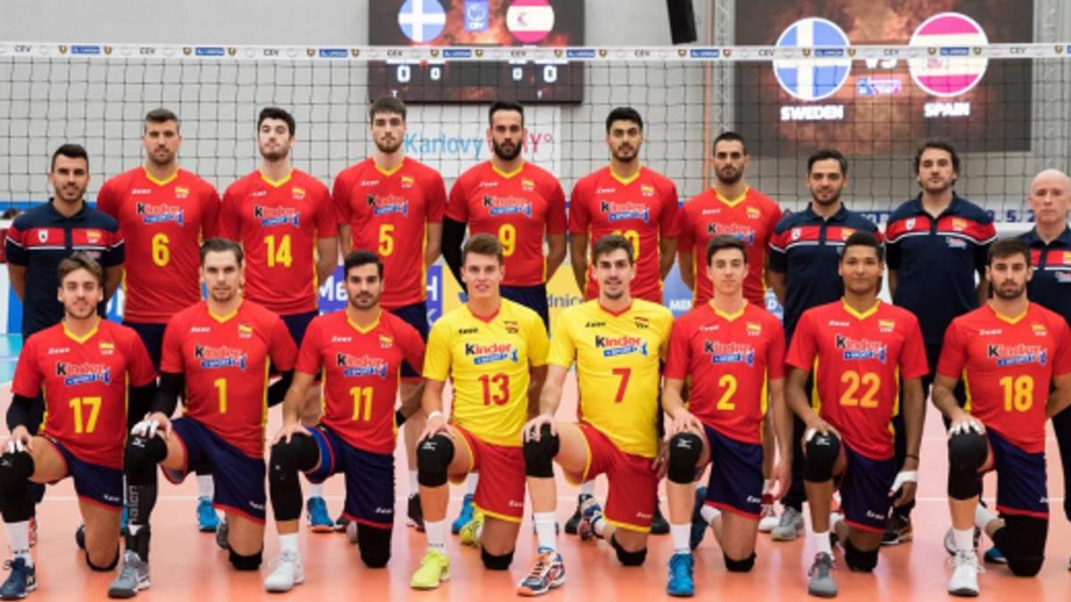 Voleibol España arranca el Premundial con victoria ante
