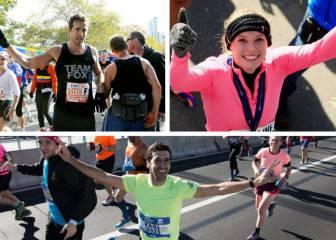 Pamela Anderson, Alicia Keys, Raúl... famosos que corrieron la Maratón de Nueva York