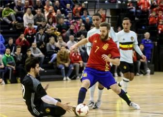 Trabajada victoria en el segundo duelo ante los belgas