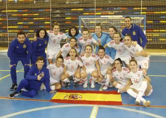 La Selección Española de fútbol sala femenino sigue creciendo