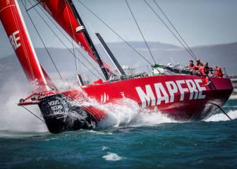 El 'Dongfeng' y el 'Mapfre' se escapan de la flota