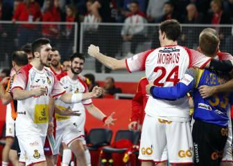 Alex Dujsebaev tira de galones para dar el triunfo a España
