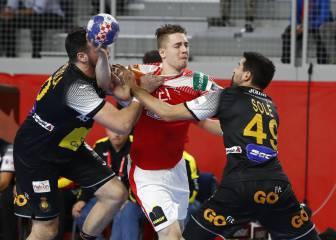 La Selección se atasca ante el poderío de los daneses