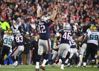 Los Patriots están en la Super Bowl tras remontar a Jaguars
