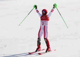 Hirscher se saca la espina y logra su primer oro olímpico