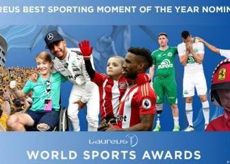 Laureus elige el mejor momento deportivo del año