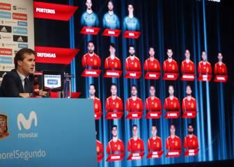 Como puntúan en FIFA los 23 de España para el Mundial