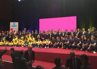 Madrid, Barça, Lydia Valentín, Alejandro Valverde o Sergio García, premiados por la AEPD