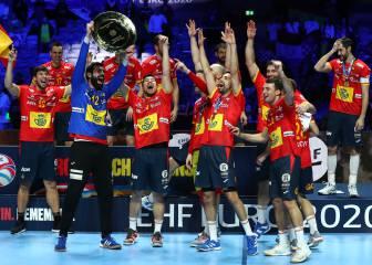 Todas las medallas históricas de España en balonmano
