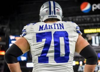 Zack Martin se convierte en el guard más caro de la NFL