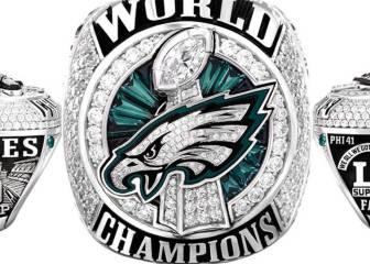 Los anillos de los Eagles hacen un homenaje a