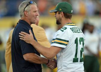 Brett Favre y Aaron Rodgers se entienden a la vejez