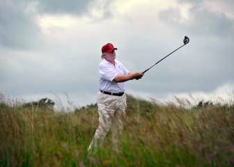 Trump destruye una zona de dunas protegidas en Escocia con uno de sus campos de golf