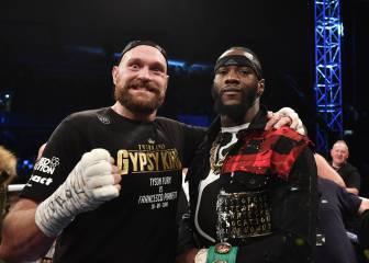 Wilder admite que siempre quiso pelear con Fury