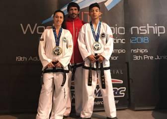 Tres medallas españolas en el Mundial de Taekwondo ITF