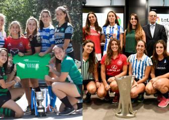 Las ligas Iberdrola de hockey y rugby cumplen su segundo año