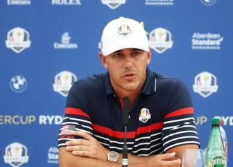 """Koepka """"El sueño de cualquier golfista es poder estar aquí"""""""