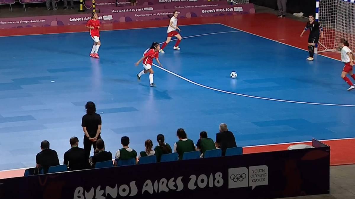 Futbol Sala En Los Juegos Olimpicos De La Juventud Espana Golea En
