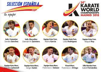 Sánchez y Quintero lideran la lista de España para el Mundial